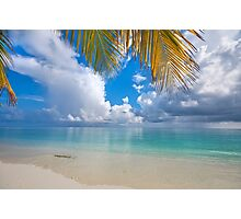 Postcard Perfection. Maldives Photographic Print