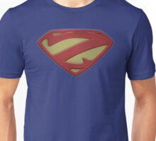 """The Letter Z in the Style of """"Man of Steel"""" Unisex T-Shirt"""