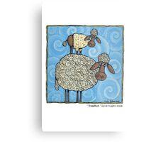 Sheep-stack Metal Print