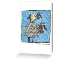 Sheep-stack Greeting Card