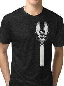 UNSC LOGO HALO 4 Tri-blend T-Shirt