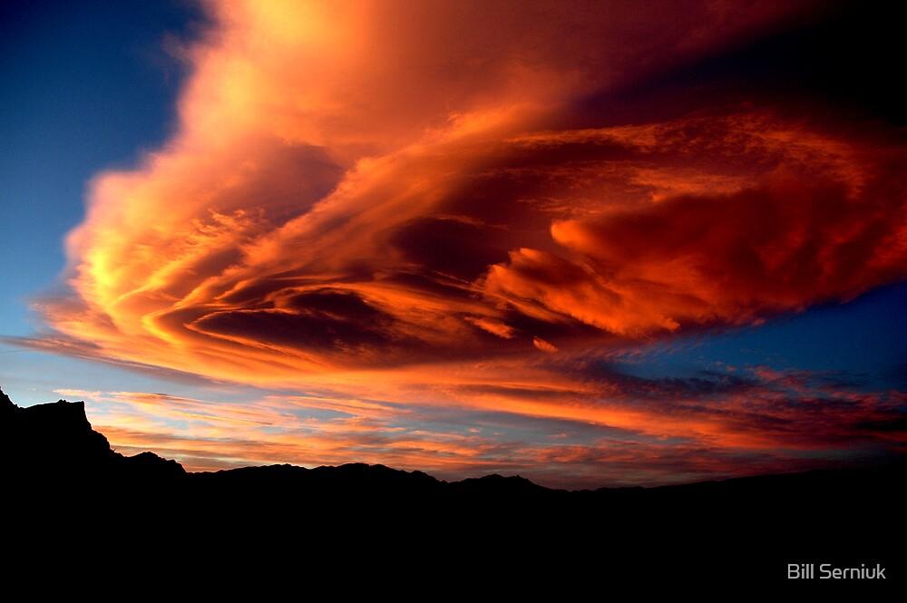 Sunset-Red Rocks by Bill Serniuk