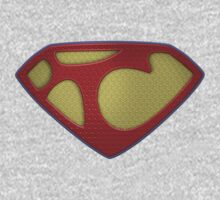 """The Letter T in the Style of """"Man of Steel"""" One Piece - Long Sleeve"""