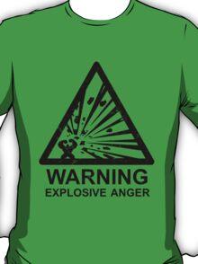 Warning: Explosive Anger T-Shirt