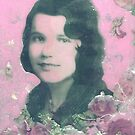 my mother collage by francelle  huffman
