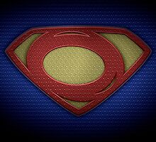 """The Letter O in the Style of """"Man of Steel"""" by BigRockDJ"""