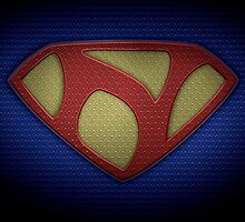 """The Letter N in the Style of """"Man of Steel"""" by BigRockDJ"""