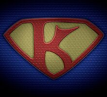 """The Letter K in the Style of """"Man of Steel"""" by BigRockDJ"""