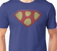 "The Letter H in the Style of ""Man of Steel"" Unisex T-Shirt"