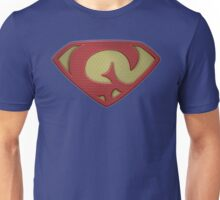 """The Letter G in the Style of """"Man of Steel"""" Unisex T-Shirt"""