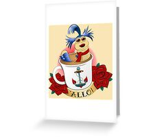 'ALLO! Greeting Card
