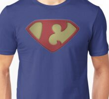 "The Letter E in the Style of ""Man of Steel"" Unisex T-Shirt"