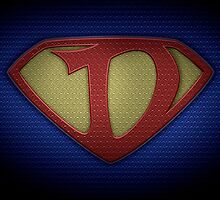 "The Letter D in the Style of ""Man of Steel"" by BigRockDJ"