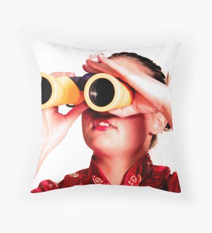 Spyglasses Throw Pillow