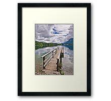 Eibsee 2 Framed Print