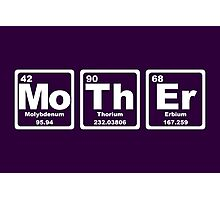 Mother - Periodic Table Photographic Print