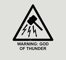 Warning: God of Thunder T-Shirt