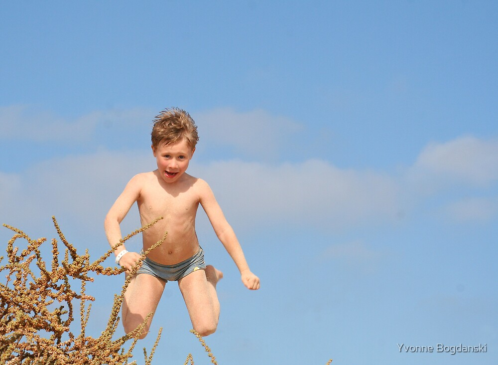 Jumping by Yvonne Bogdanski