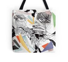 Deep in fear _ Let me flee far away_ Tote Bag