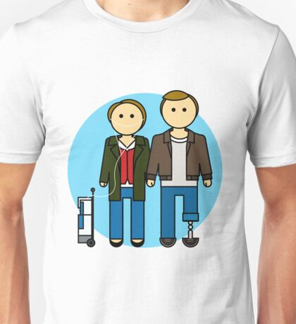 Hazel and Augustus (The Fault in Our Stars) Unisex T-Shirt