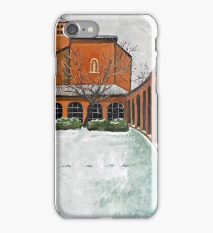 The Colonnade at Christ House iPhone Case/Skin