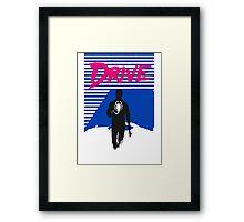 Drive Movie 80s Neon T-shirt Framed Print