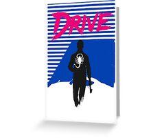 Drive Movie 80s Neon T-shirt Greeting Card