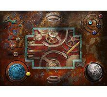 Steampunk - Pandora's box Photographic Print
