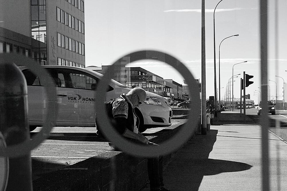 Streets of Reykjavík II by Fannar