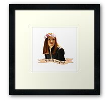 BW - Queen of Everything Framed Print