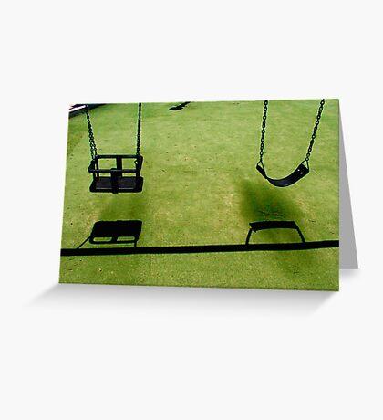 Swings Greeting Card