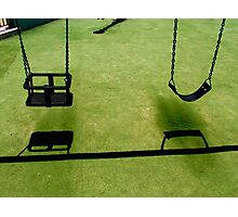 Swings Photographic Print