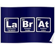Lab Rat - Periodic Table Poster