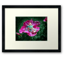 When I See You Smile Framed Print