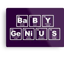 Baby Genius - Periodic Table Metal Print