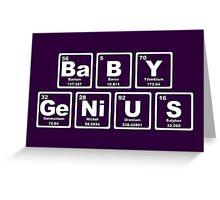 Baby Genius - Periodic Table Greeting Card