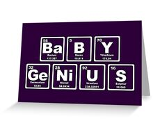Baby Genius - Periodic Table Greeting Card