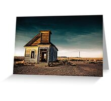 Abandoned Church. New Mexico. Greeting Card