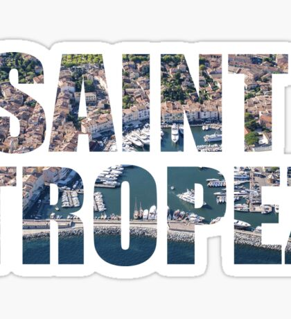 Saint Tropez Sticker