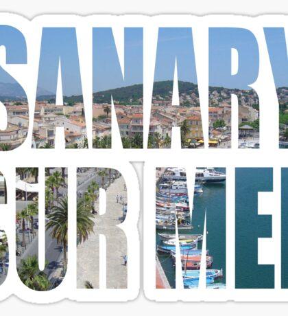 Sanary Sur Mer Sticker