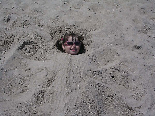 Sand Angel by peggyprescott
