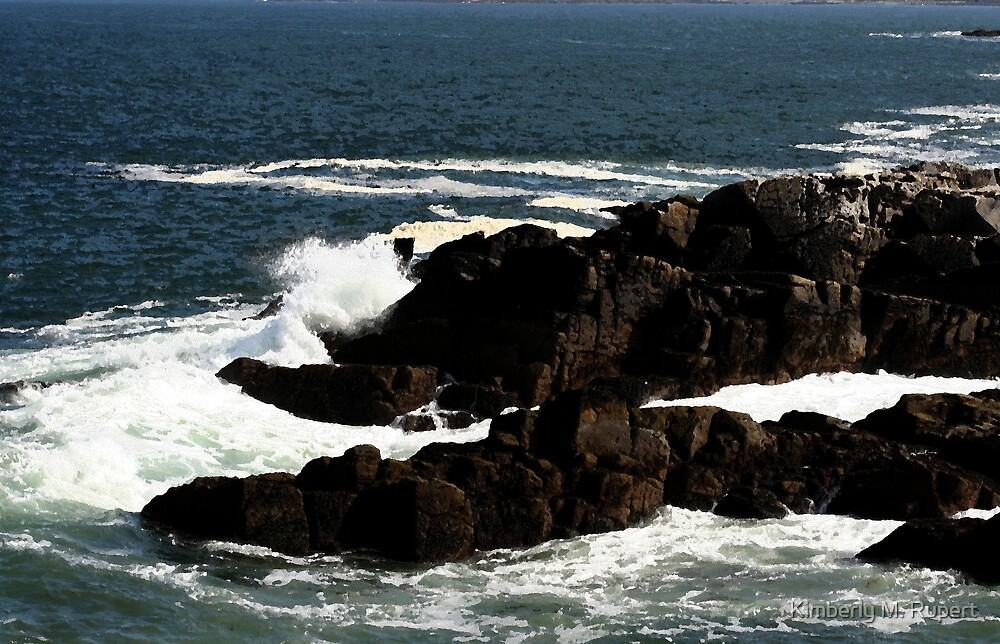 Rock Bound Coast of Portland, ME by Kimberly M. Rupert