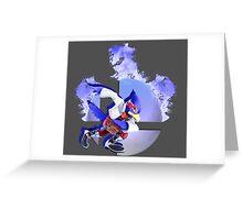 Super Smash Bros.: Falco-Collection Greeting Card