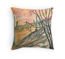 Arizona Evening Throw Pillow