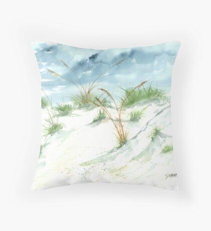 Dunes 3 Throw Pillow