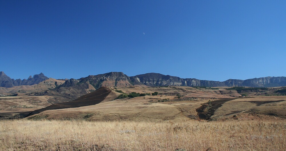 Drakensberg, South Africa by Herman Greffrath