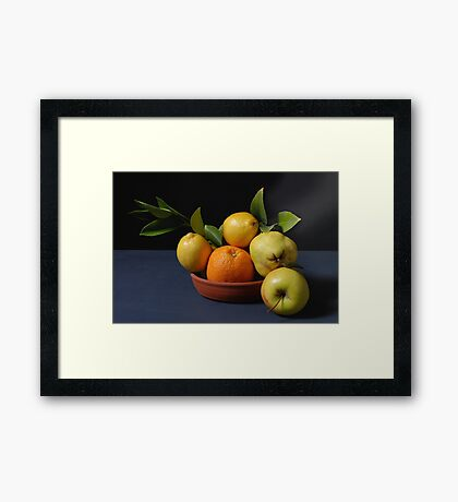 Fruit. Framed Print