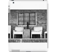 4 chairs iPad Case/Skin