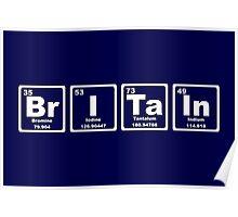 Britain - Periodic Table Poster