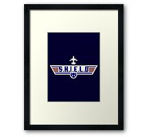 Top S.H.I.E.L.D Framed Print